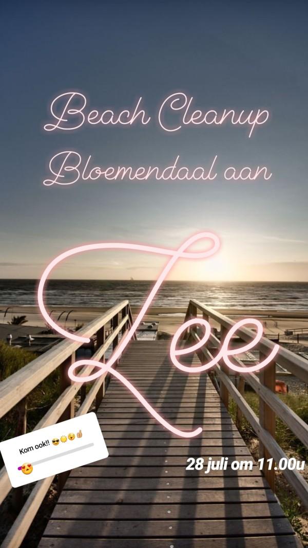 Beach Cleanup Bloemendaal aan Zee, 28 juli om 11.00u!