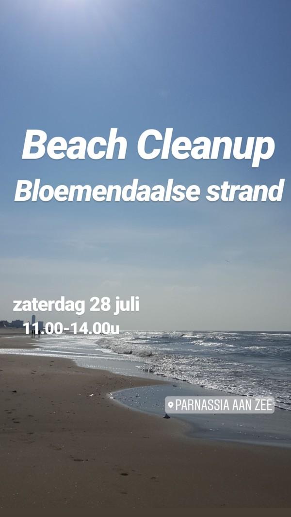 Beach Cleanup Bloemendaal aan Zee, zaterdag 28 juli van 11.00-14.00!