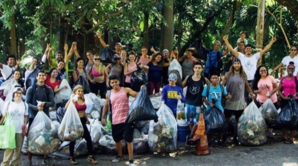 Almost 9 tons of plastic were collected on the beaches of Costa del Este