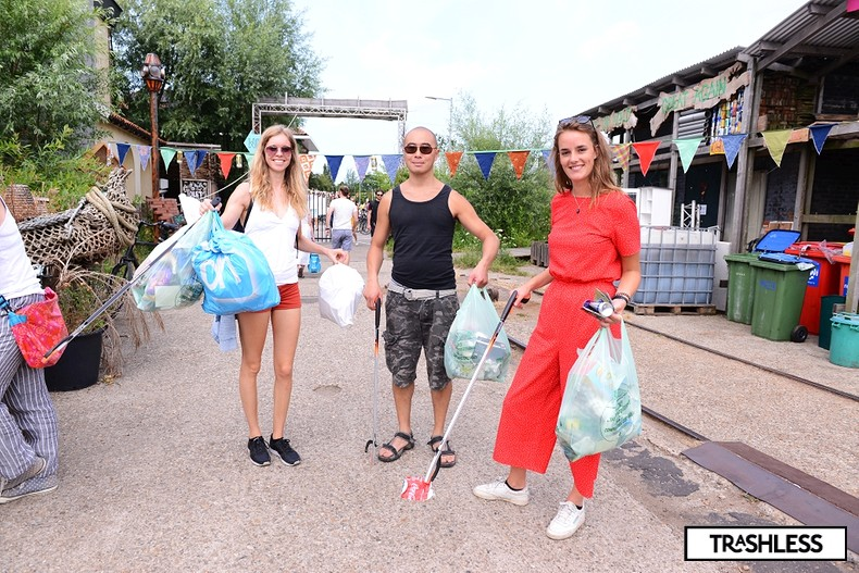 Trashgame with Litterati app