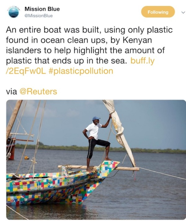 How a team from Kenya built world's first dhow from recycled plastic