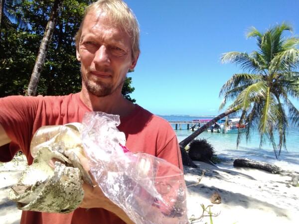 TrashImpact zapatilla island
