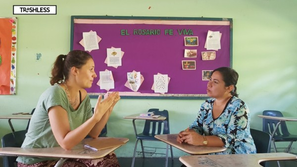 Interview with a teacher in the Panamese mountains