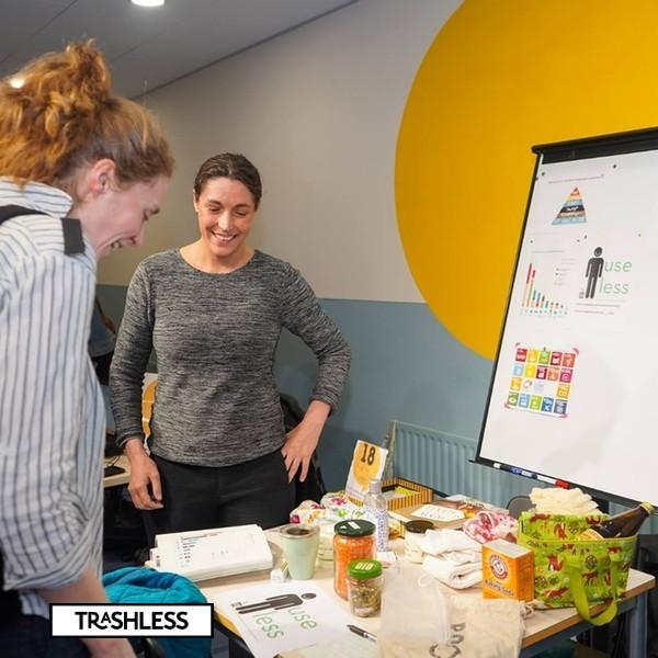Laura van Use-Less laat mensen zien dat ze in kleine stapjes al een verschil kunnen maken
