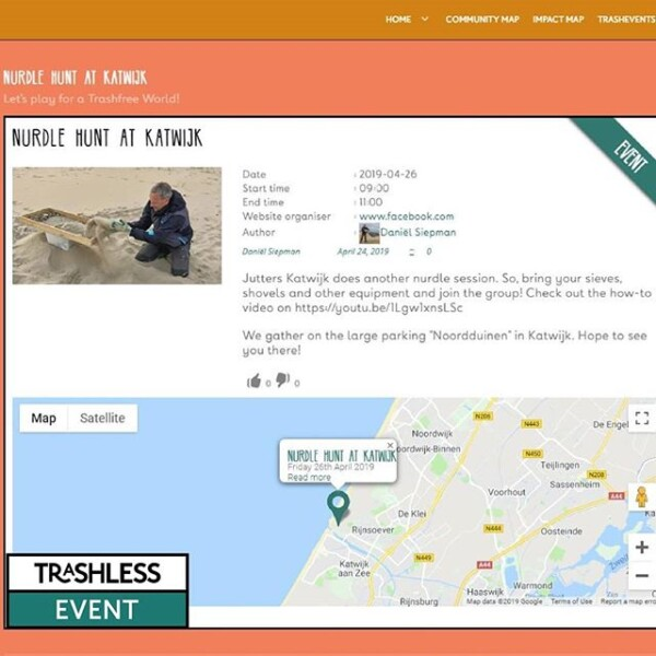 26th of april #nurdlehunt at katwijk aan