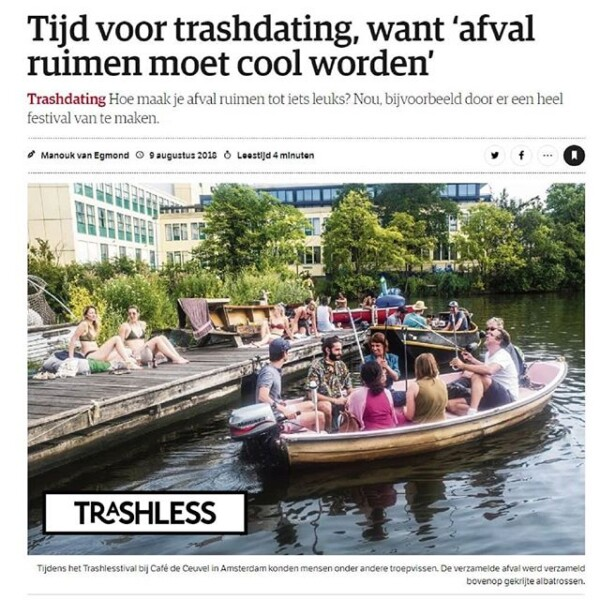 Article in one of the biggest dutch qual