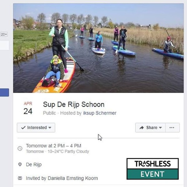 Tomorrow sup de Rijp schoon organised by