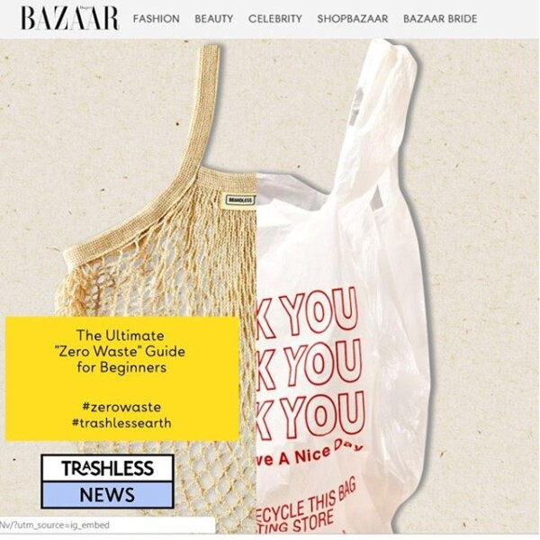 #zerowaste In @bazaaruk a nice how to guide zerowaste guide