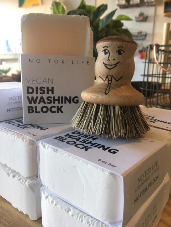 Vegan Zero Waste Dish Washing Soap Block $ 18.00