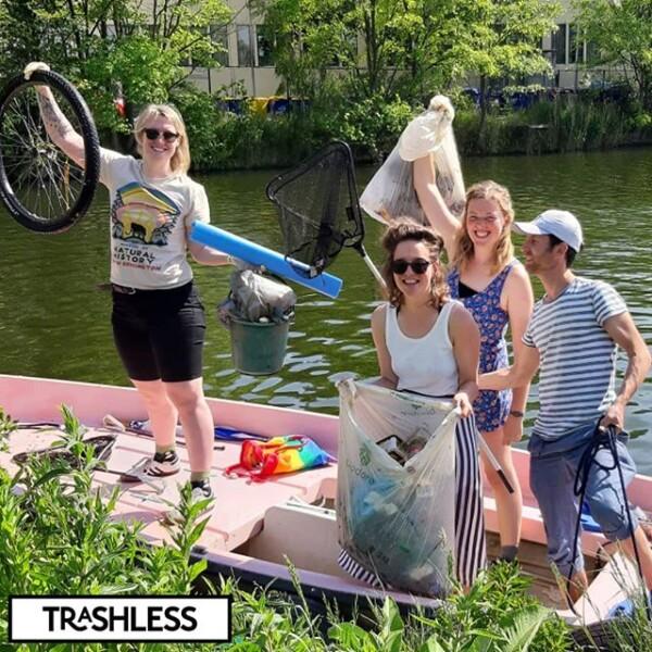 #trashlesstival 2019 #troepvissen
