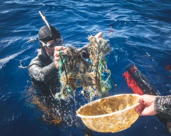 Paddling in plastic: meet the man swimming the Pacific garbage patch