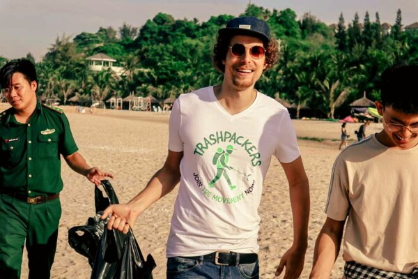 Interview with Tijmen Sissing the Trashpacker