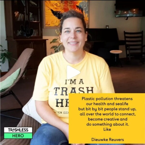 Interview Dieuwke Reuvers of Trashhero Amsterdam