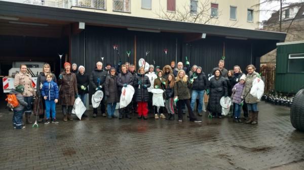Zwerfafval actie Vondelpark – schoon het nieuwe jaar in