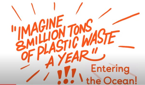 8 Million Tons of plastic entering the ocean