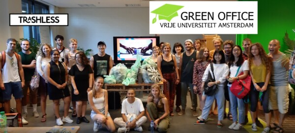 Trashdating with 30 new International Students at the Vrije Universiteit